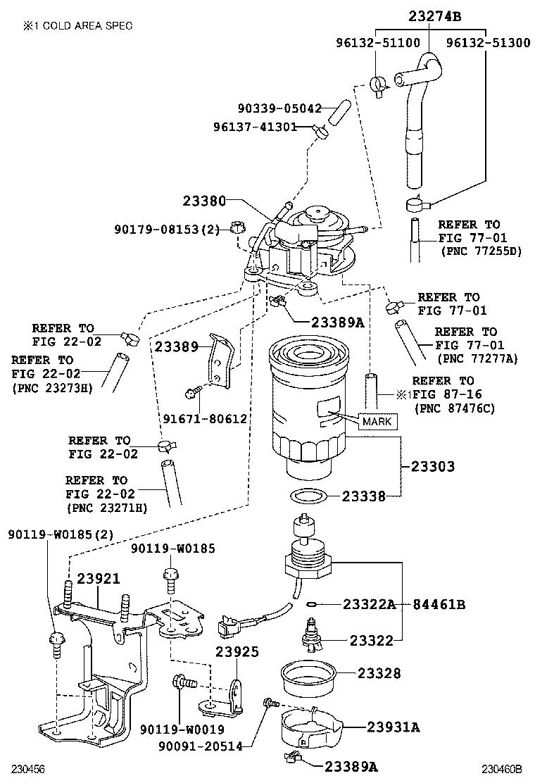 toyota versoaur20l-gwfeyw - tool-engine-fuel