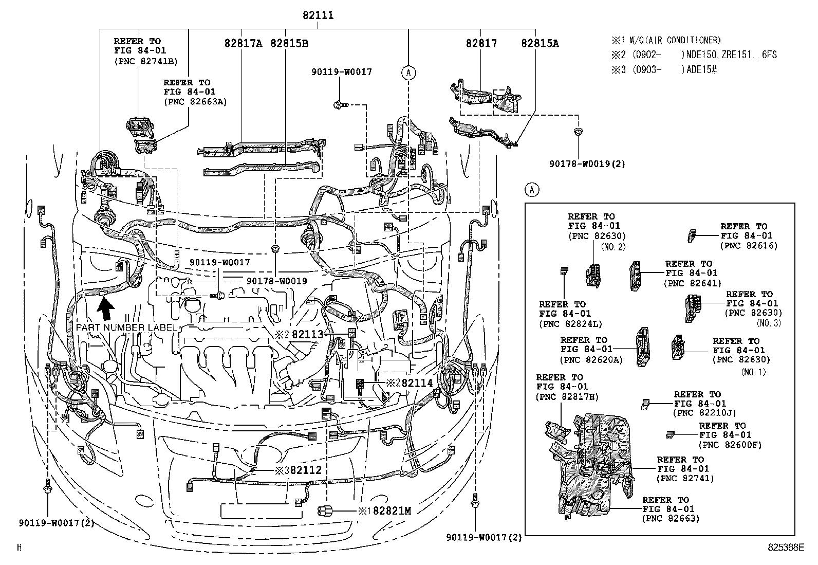 toyota auris hybridade157l-dhfnxw - electrical