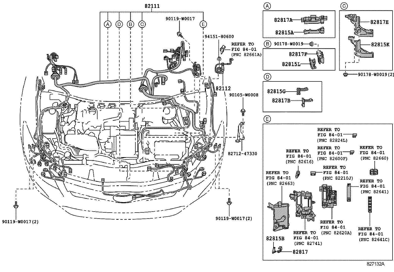 toyota auris hybridzwe150l-dhxgbw - electrical