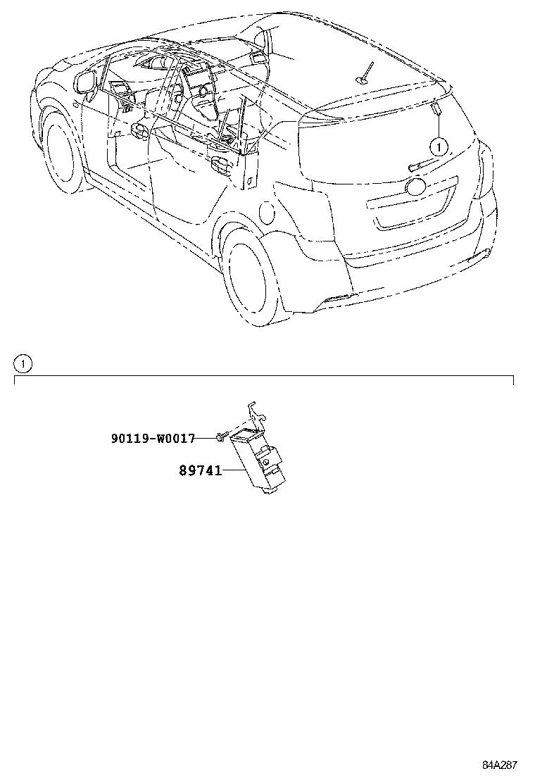 toyota versozgr20l-gwfdpw - electrical