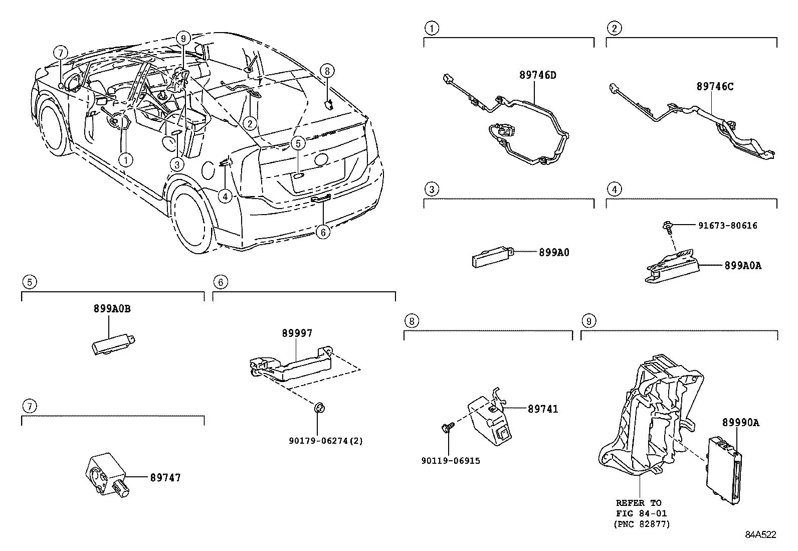 toyota priuszvw30l-ahxebw - electrical