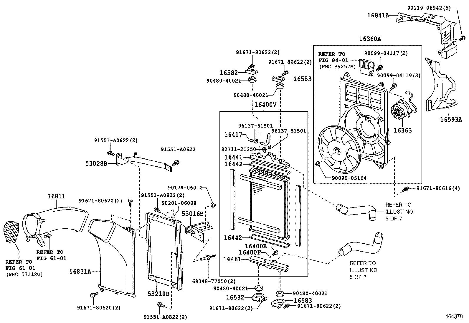 lfa | radiator water outlet
