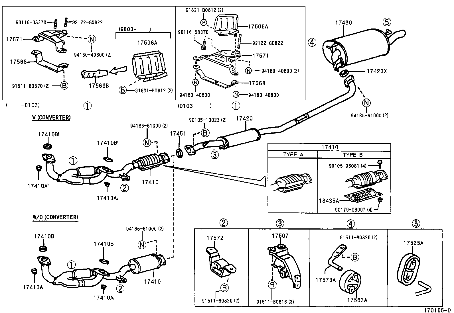 toyota ta a exhaust system diagram  toyota  free engine