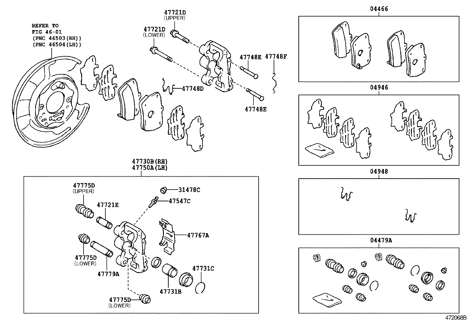2003 toyota rav4 parts diagram front