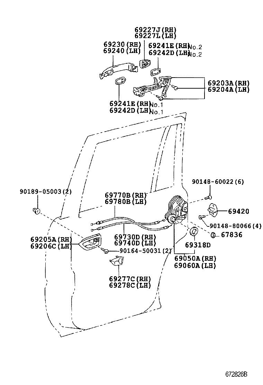 toyota land cruiser 120kdj120l-gkaeyw - body