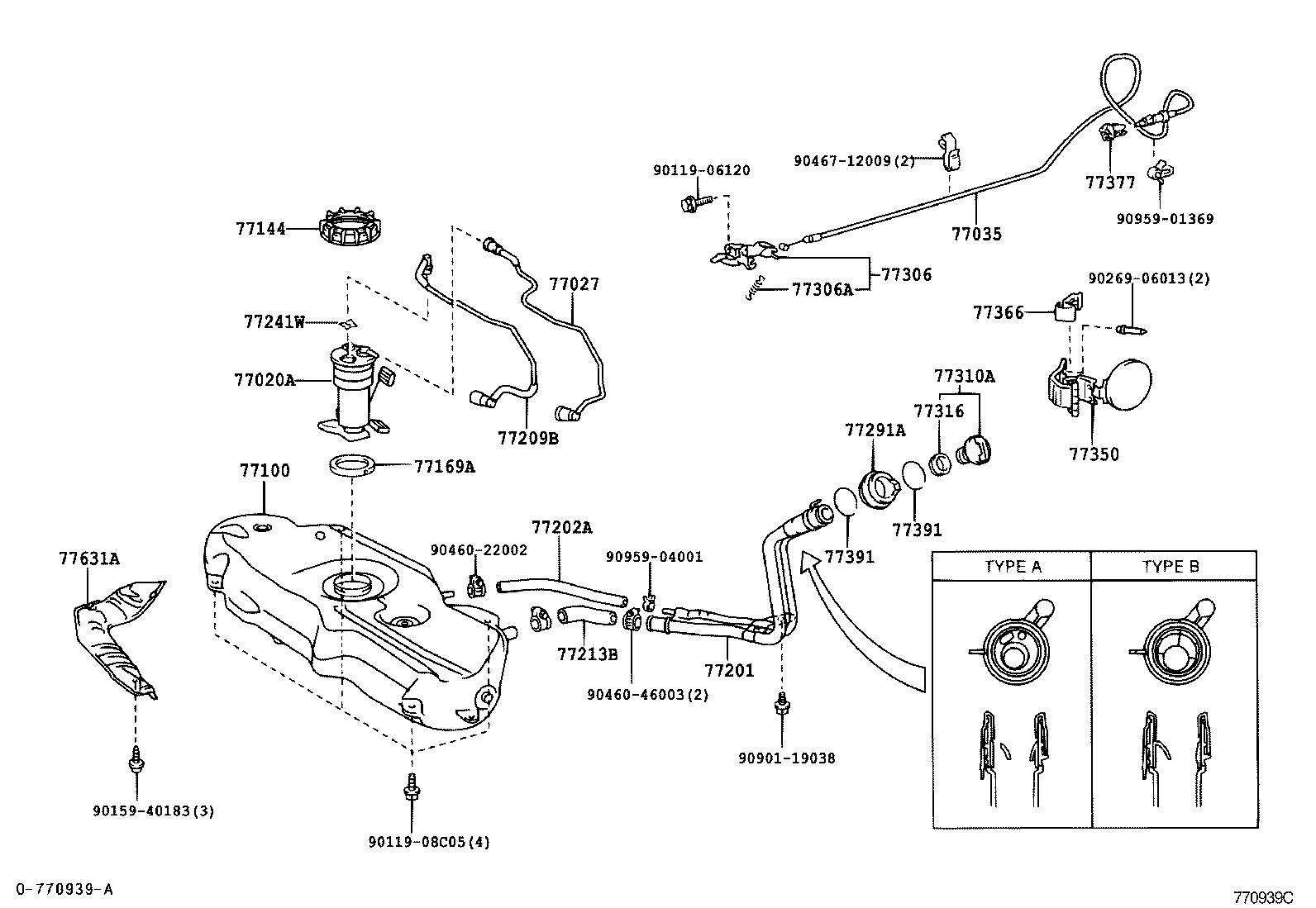 toyota yarisscp12l-cgmgkw - body
