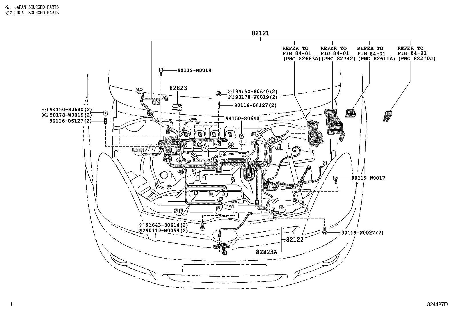 Toyota Corolla Versoaur10l-grfexw - Electrical