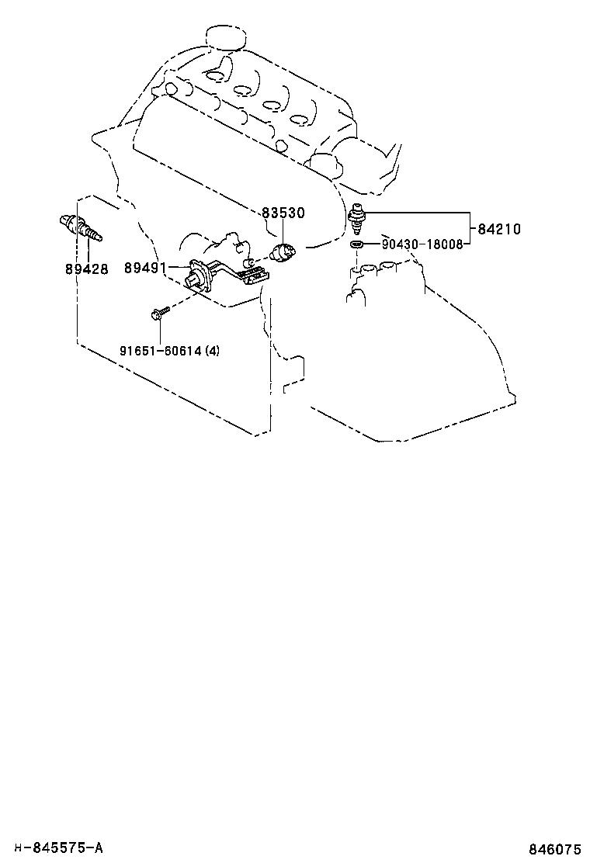 toyota corolla versocur10l-gwmdyw - electrical