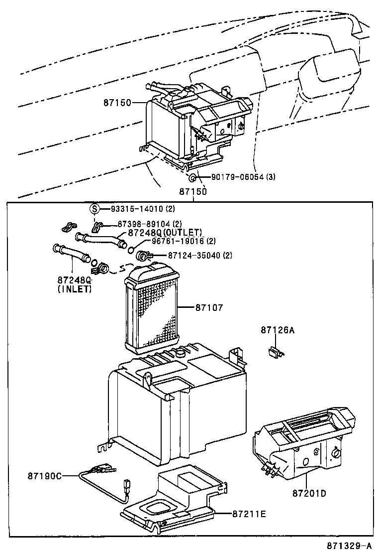 toyota corollaee110l-aemdsw - electrical