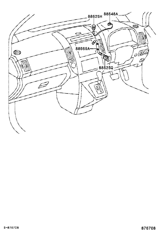toyota corolla versoaur10l-grfdyw - electrical