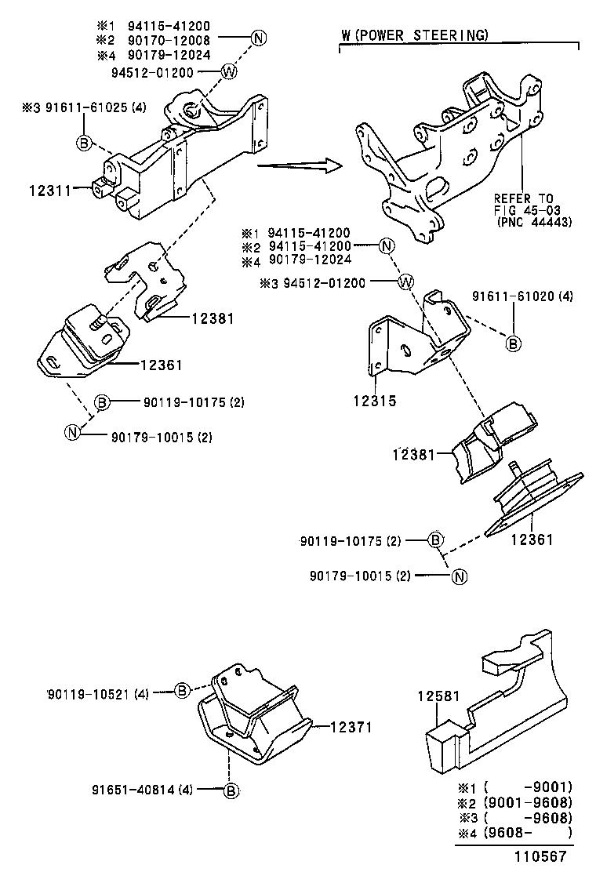 toyota hilux jppln130l-gkmsxw - tool-engine-fuel