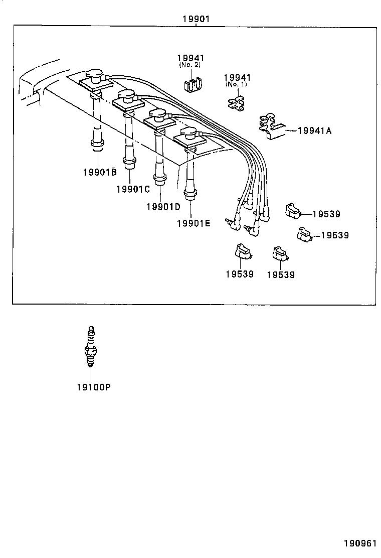 toyota corolla sed wgae111l-awmdkw - tool-engine-fuel