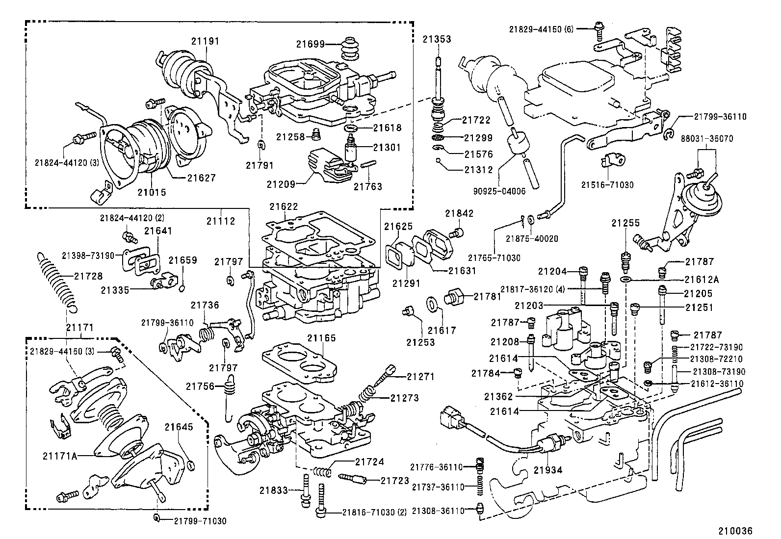 engine diagram 1990 toyota pickup  engine  free engine