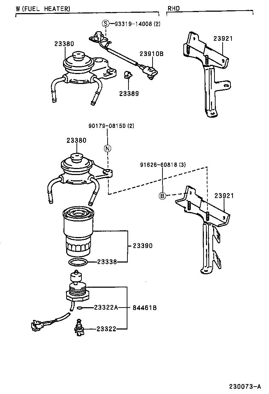 toyota hiluxln170l-crmdxw - tool-engine-fuel