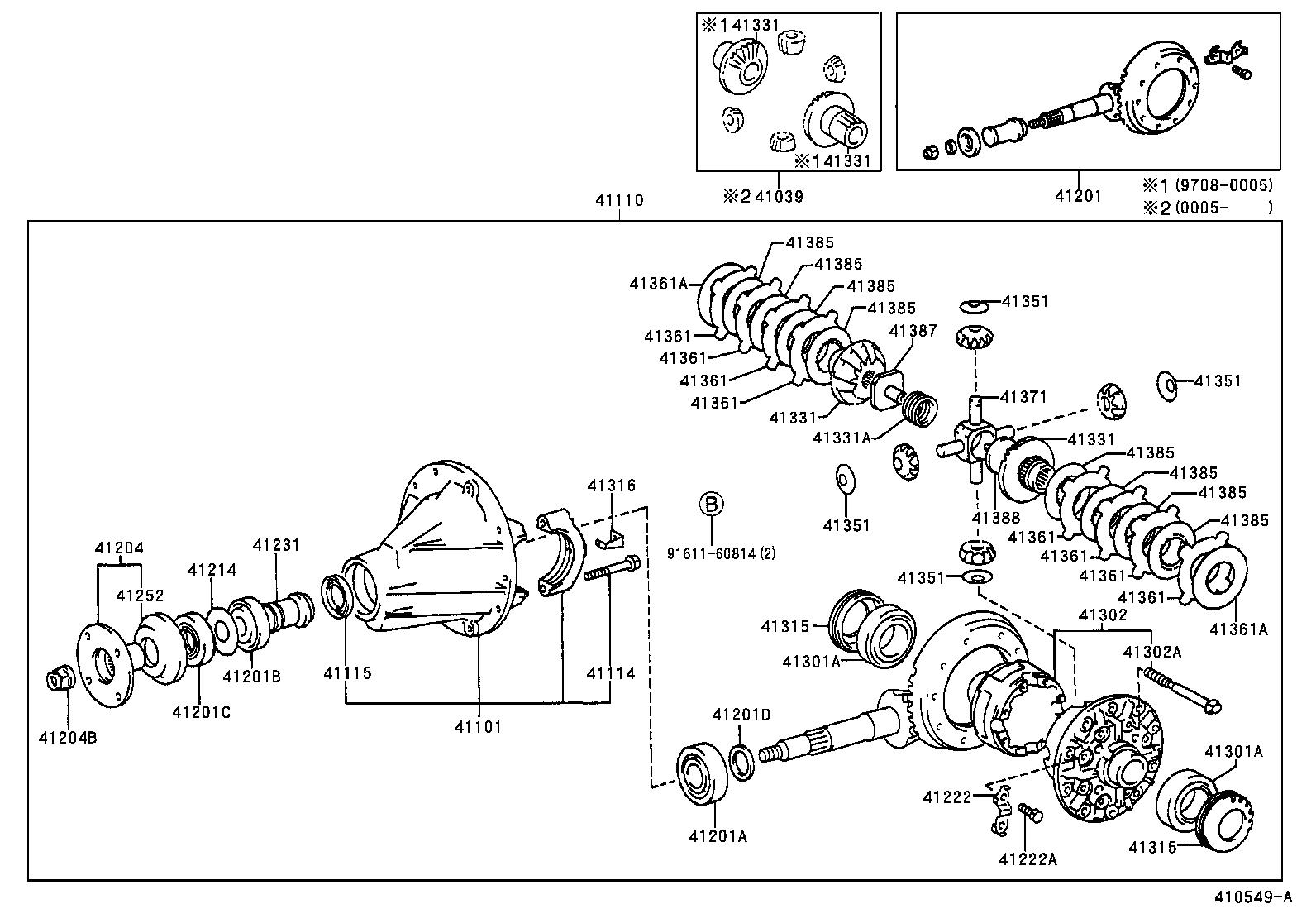 toyota hiluxln170l-crmdxw - powertrain-chassis