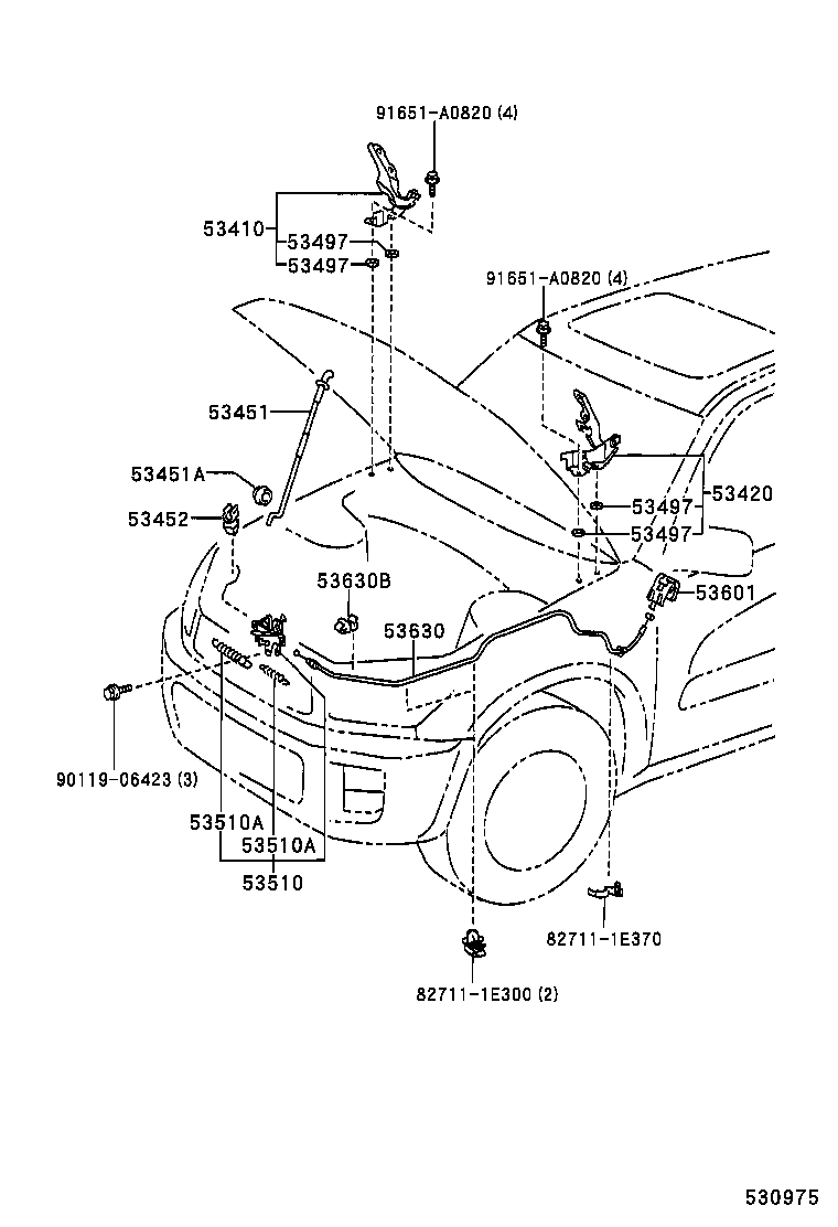 Toyota Rav4 Fender Parts Diagram Wiring Diagram For Free