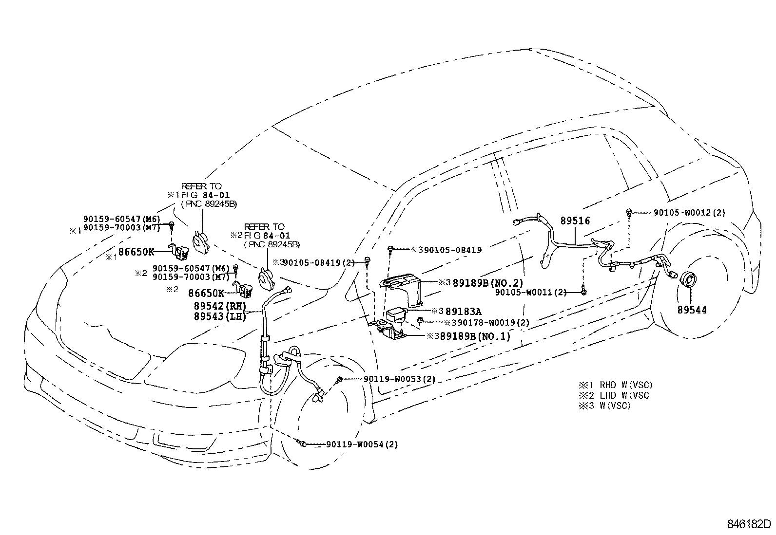 toyota corolla hb ukpcde120l-dhmnxw - electrical