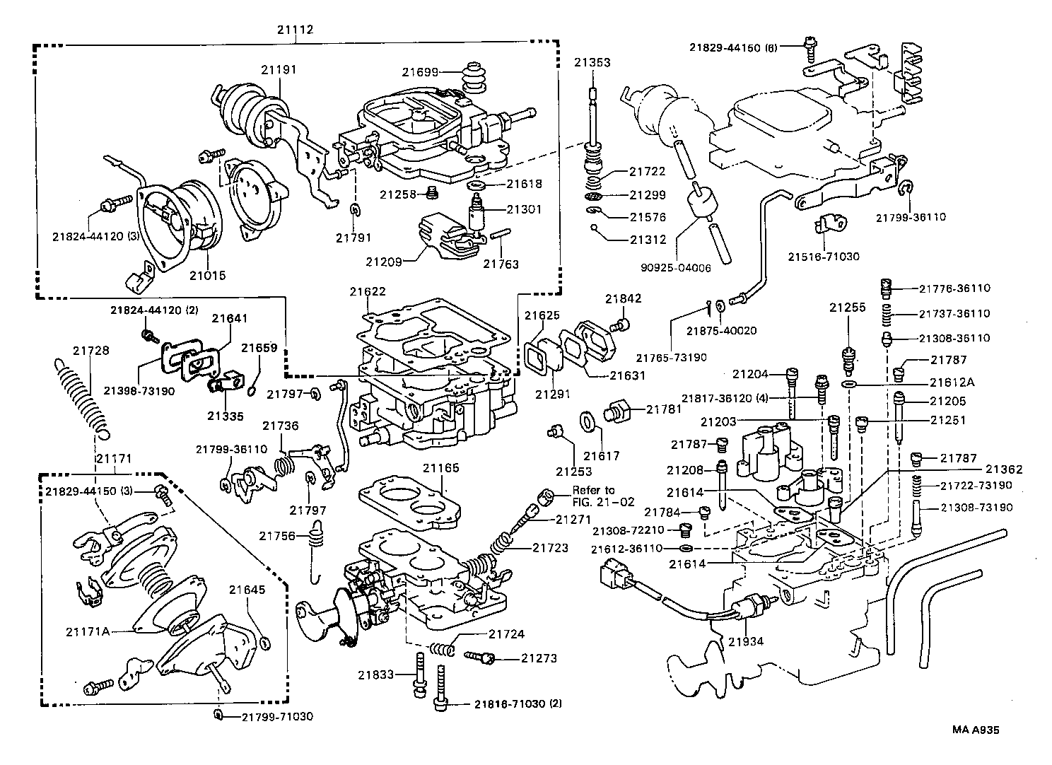 toyota y engine carburetor diagram toyota wiring diagrams online