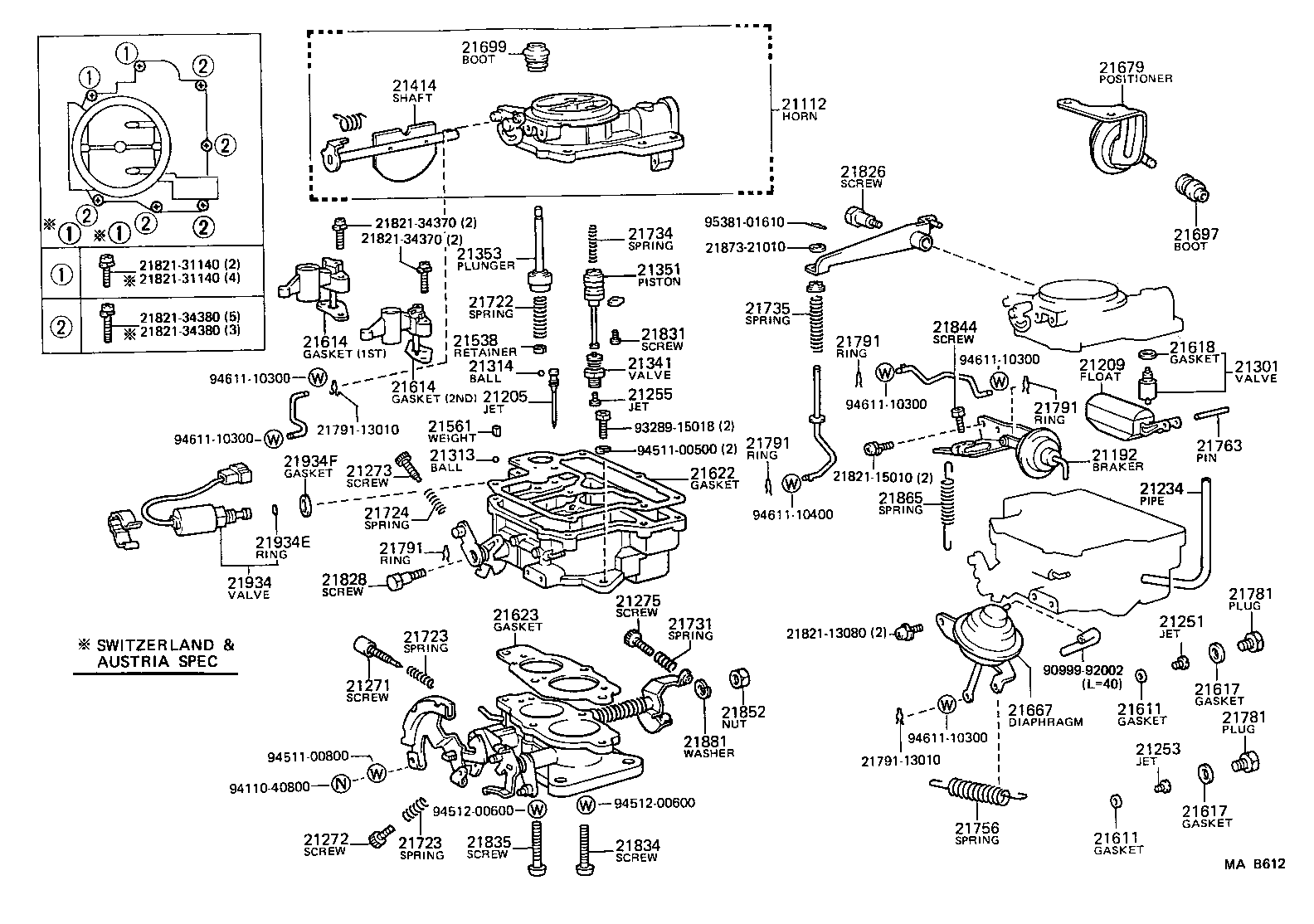 1989 toyota corolla carburetor diagram  1989  free engine