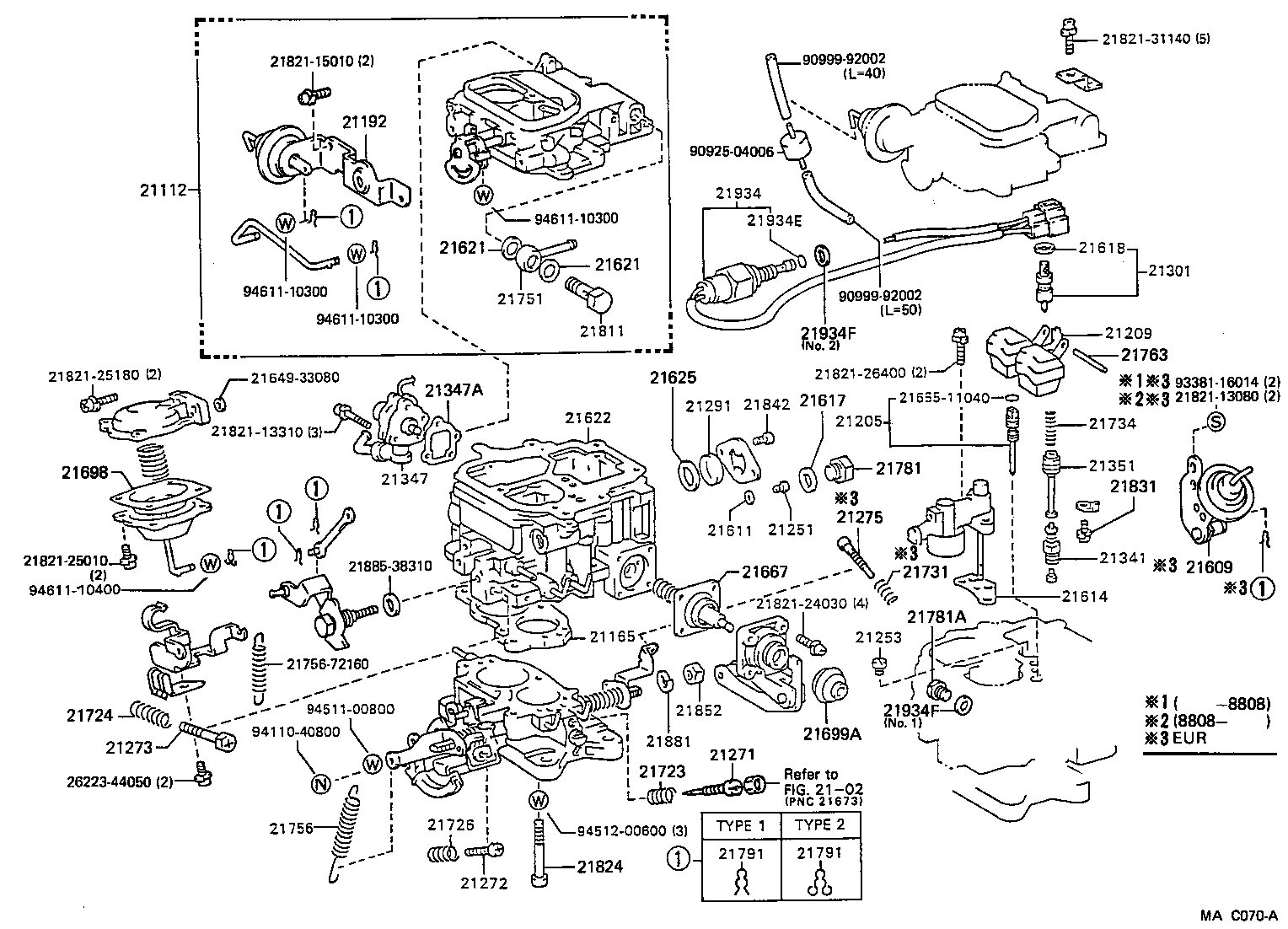 1991 toyota previa engine diagram
