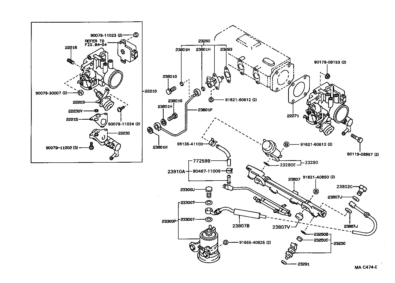 pictures of a 1991 toyota corolla efi engine diagram toyota corolla wagonae95l-cwmdkw - tool-engine-fuel - fuel ...