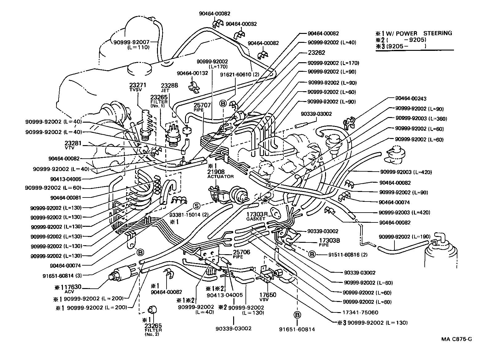 40V40 1403] 19409 Toyota Van Engine Diagram   ground scenario wiring ...