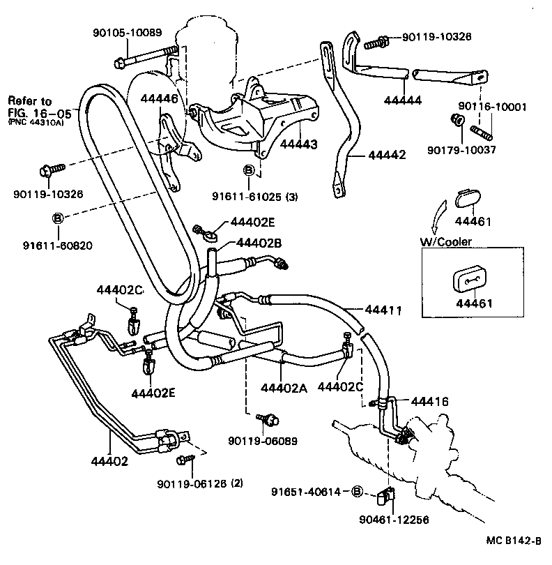 Toyota Cressida Parts Diagram