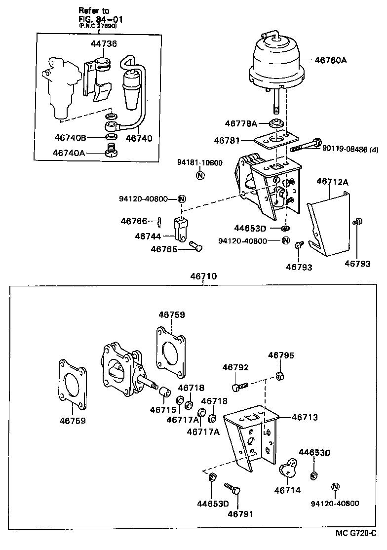 1983 toyota cressida electrical wiring diagram original