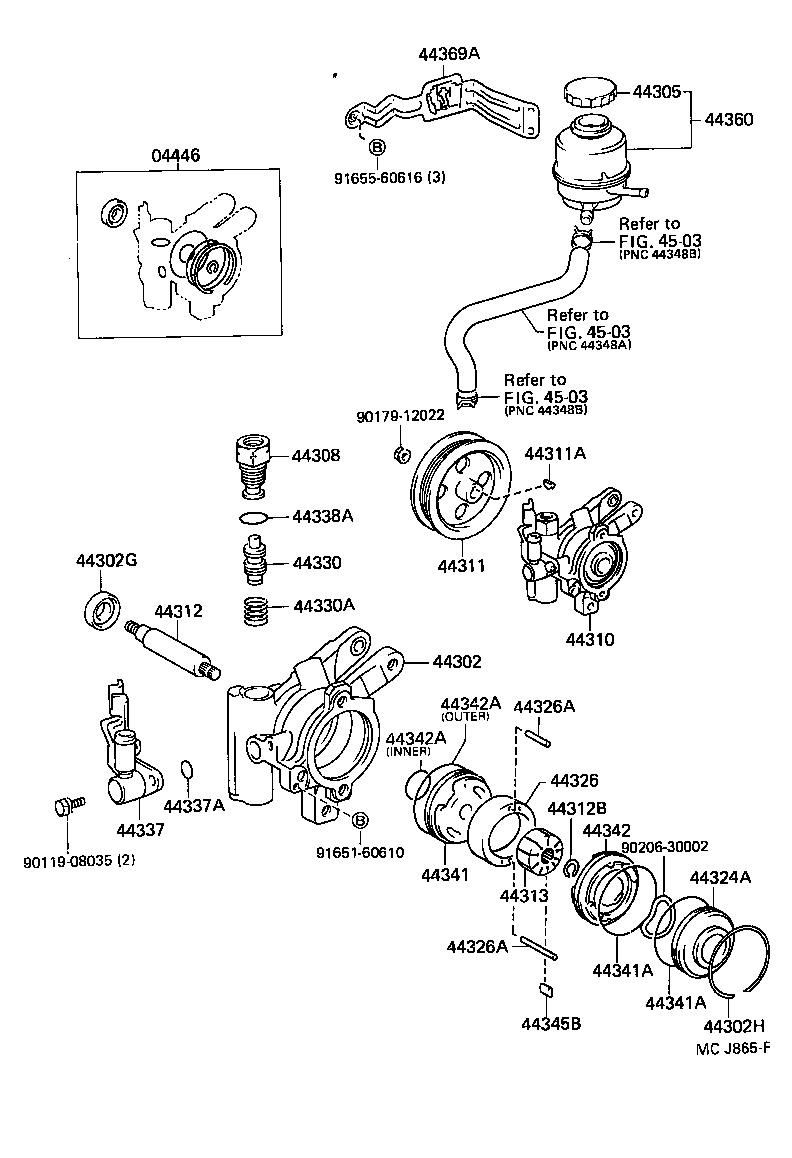 toyota starletep81r-ahmnec - powertrain-chassis