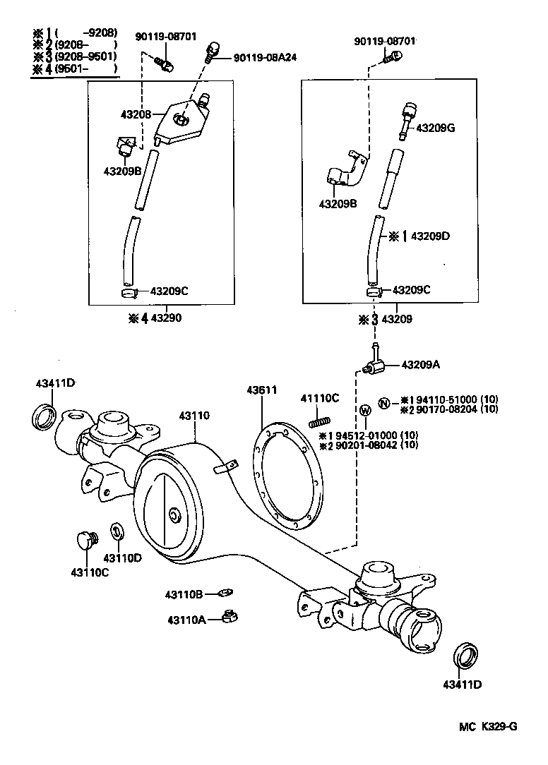 1995 toyota previa parts