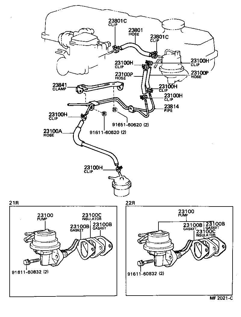 86 22re toyota electrical diagram  toyota  auto wiring diagram