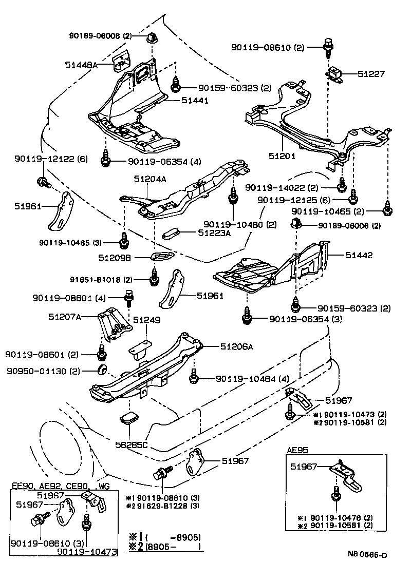 Nb D on 1980 Toyota Tercel Engine