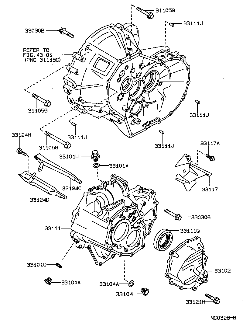 1989 toyota parts exploded