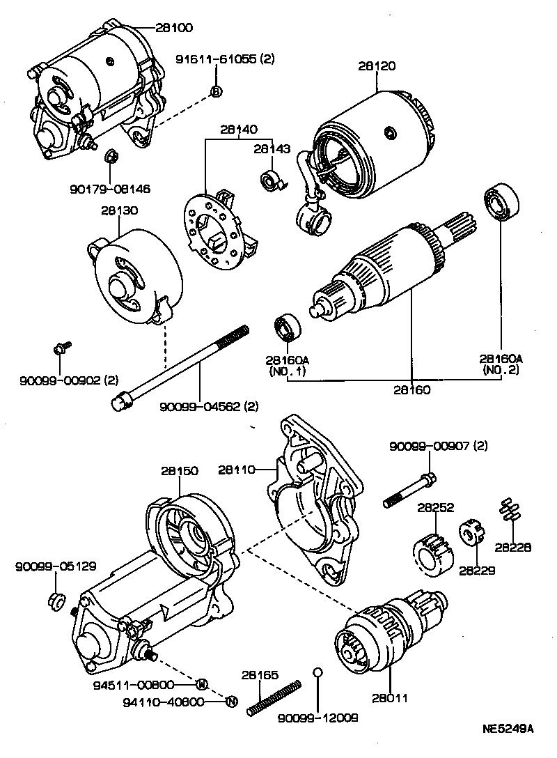 toyota cressidagx81r-aepqk - tool-engine-fuel