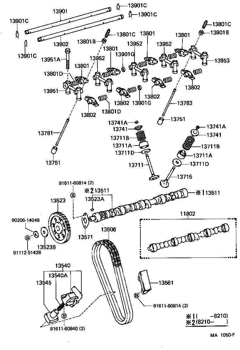 toyota corollate71r-eemdsn - tool-engine-fuel