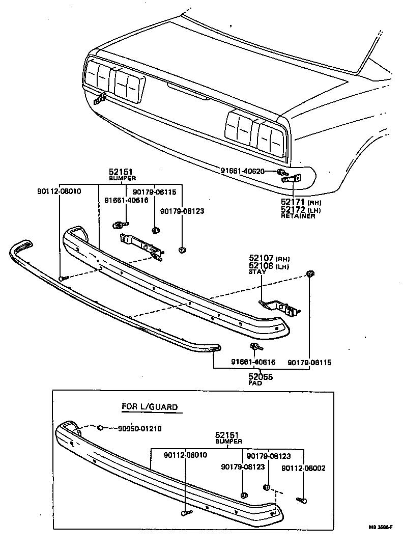 toyota coronart104-hdfn - body
