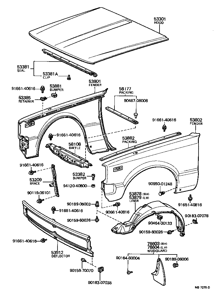 diagram of toyota camry parts html