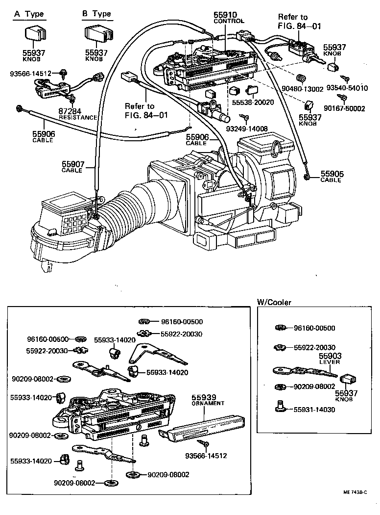 toyota coronatt133lg-twkrs - electrical