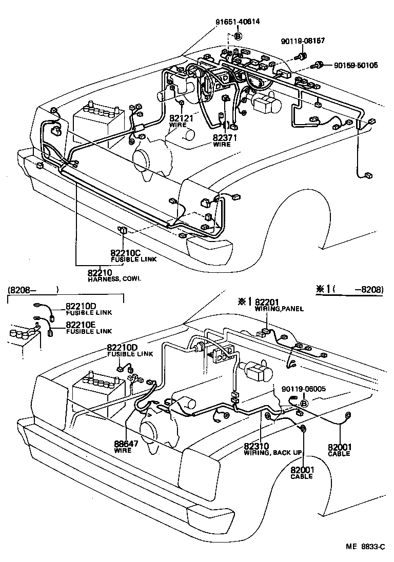 Toyota Starlet Wiring Another Blog About Diagram Fuse Box Starletkp61l Pgmrsw Electrical Clamp Japan Parts Eu Rh Download Pdf
