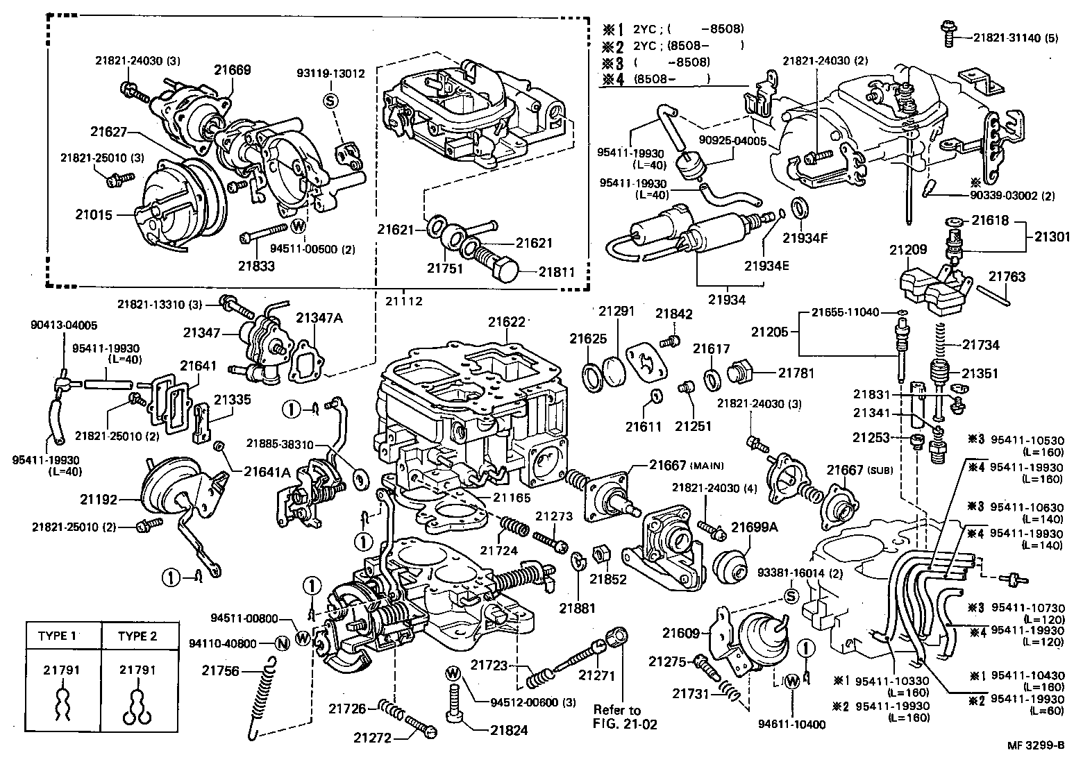 toyota liteaceym21rv-mrgq - tool-engine-fuel