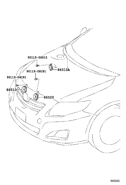 toyota corolla altiszre142l-gefdkg - electrical