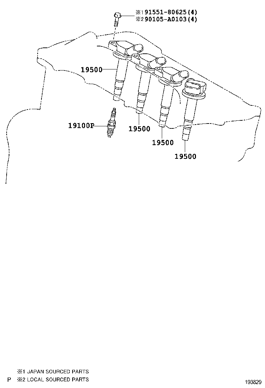 toyota corollazre152r-ahfnkq - tool-engine-fuel