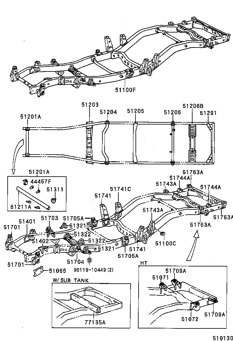 isuzu rodeo transfer case parts diagram
