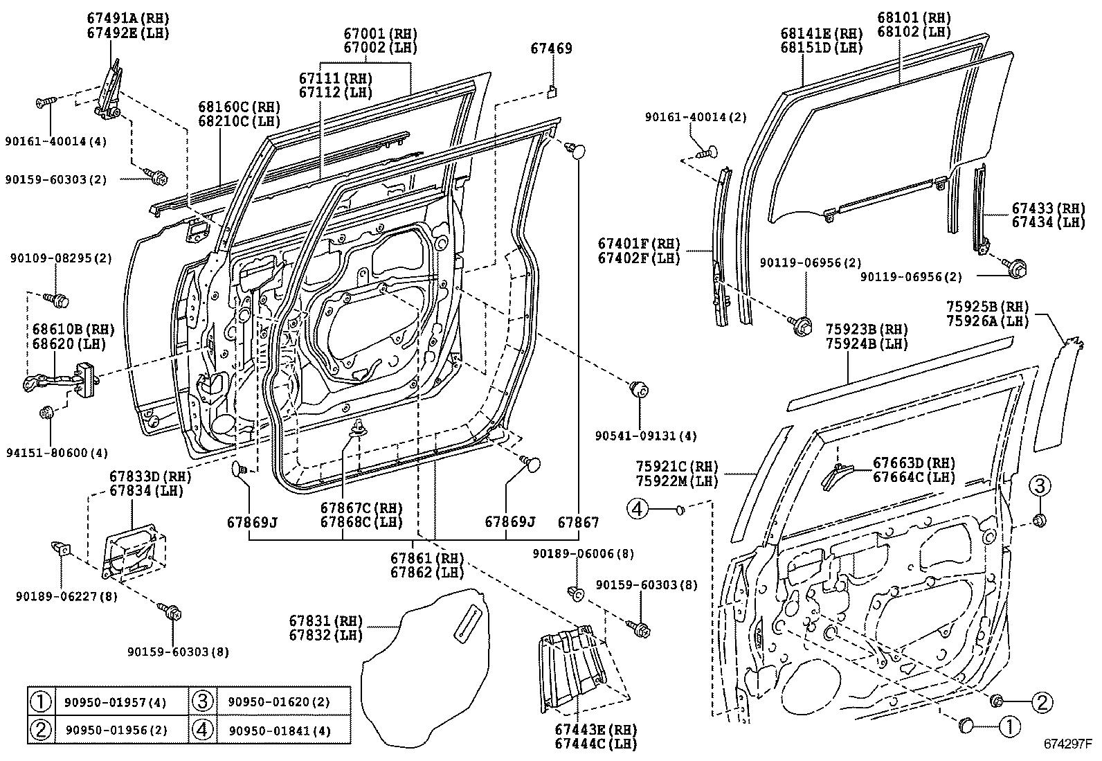 Toyota Fj Cruiser Body Diagram Electrical Wiring Diagrams 2007 Fuse Box Door Parts Auto U2022 Land