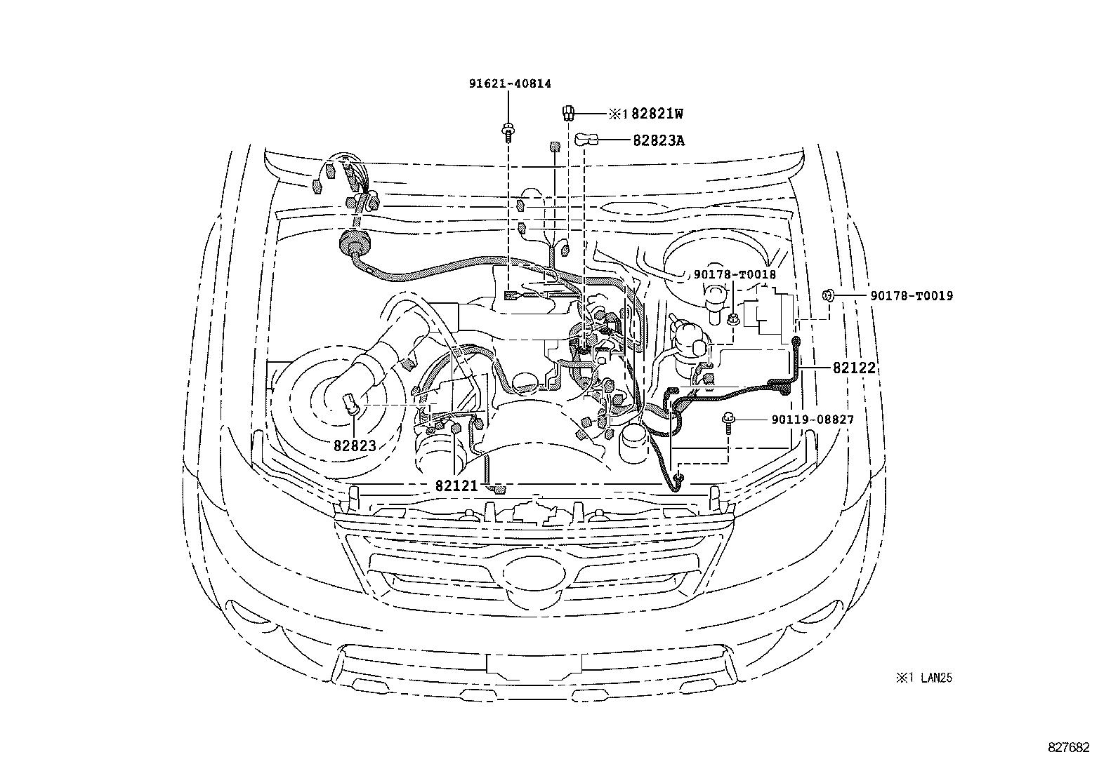 Toyota Hiluxlan25l-prmden - Electrical