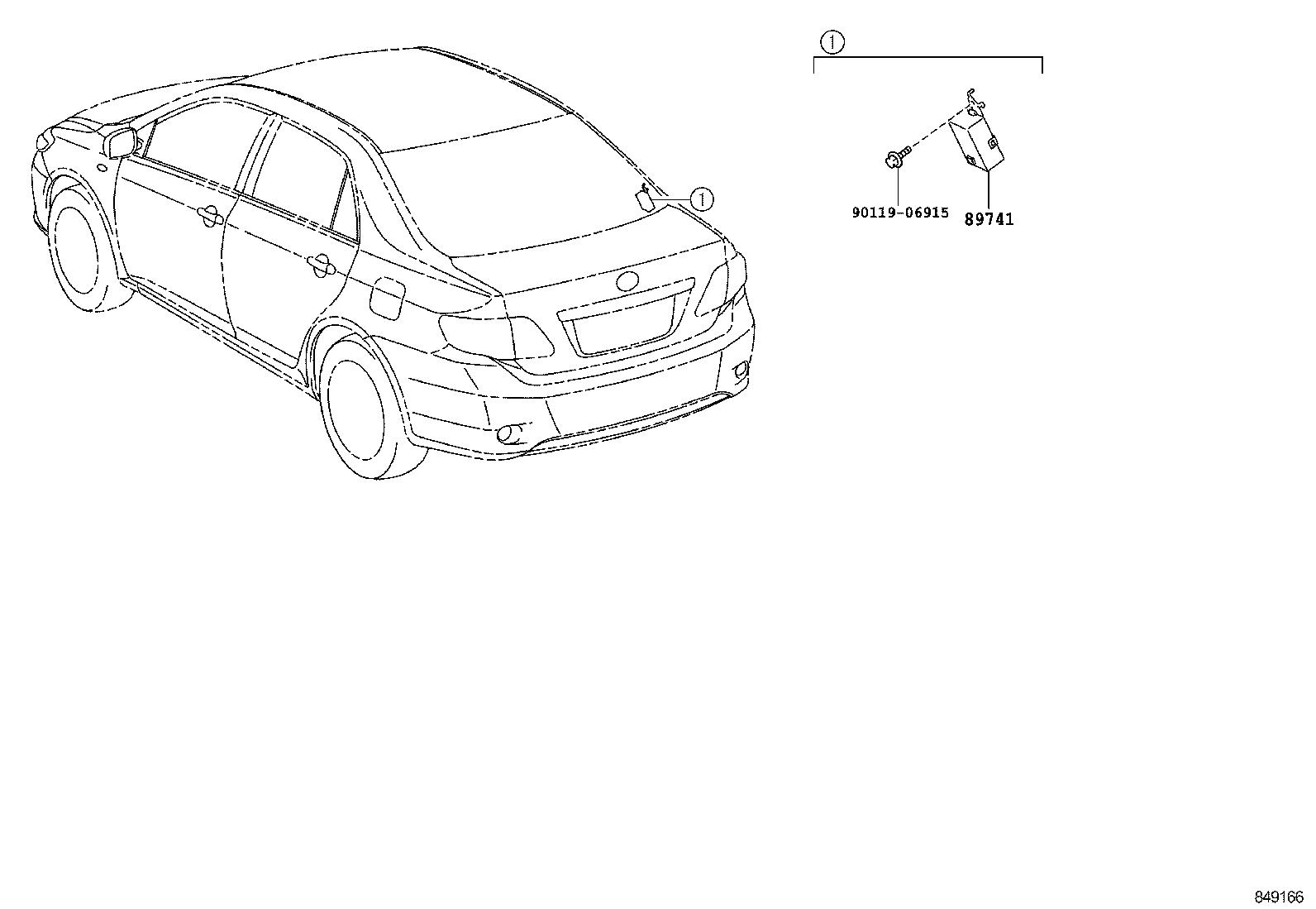 toyota corollazre141l-aepdkv - electrical