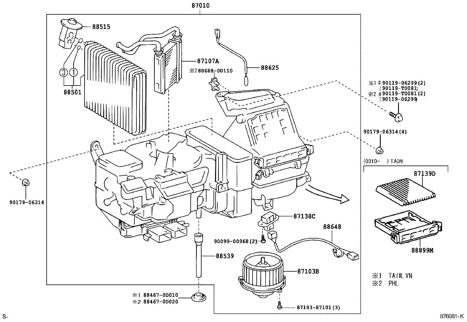 toyota vios soluna viosncp42l-eepekr - electrical
