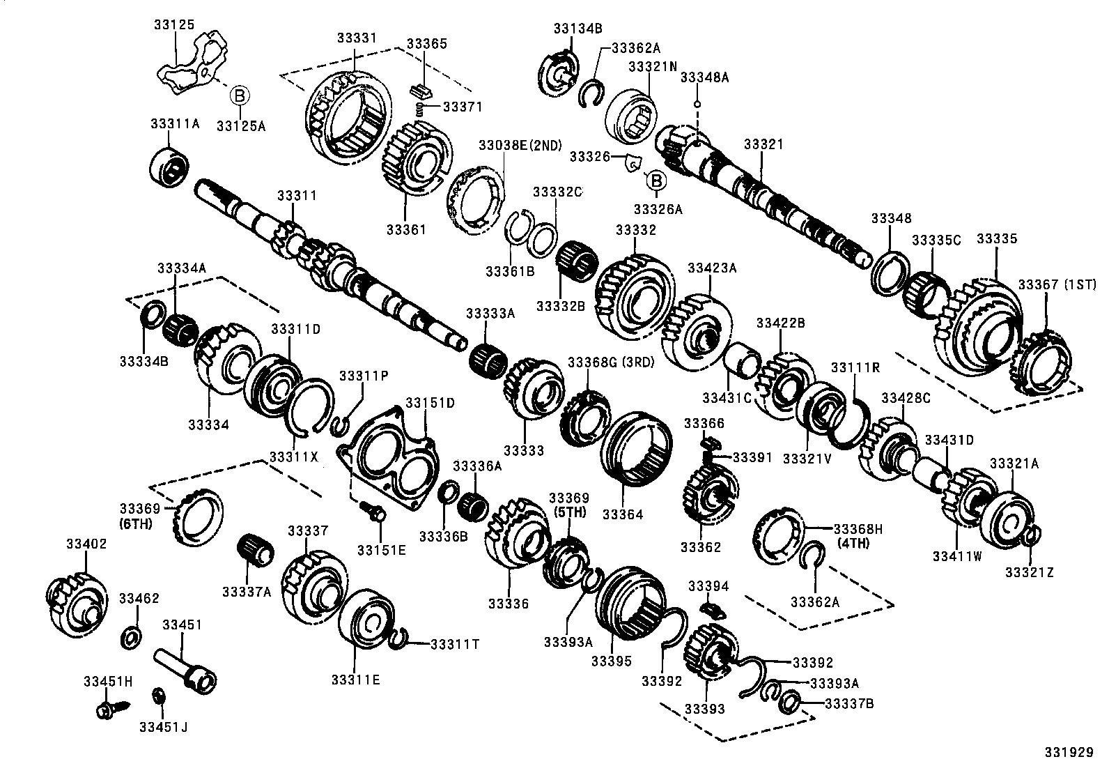 toyota c64 transmission