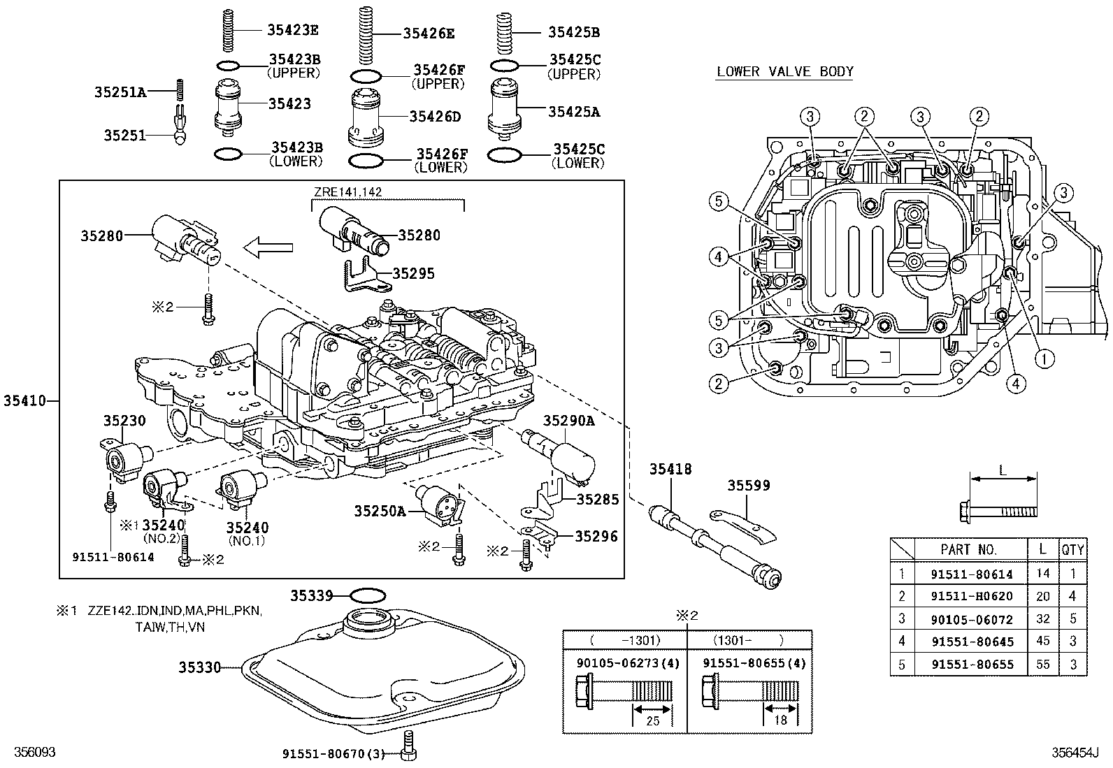 JAPANPARTS JPFR-242 Pompa Friz Corolla 02/> 1.4/&gt1.8-2.0 D-4D