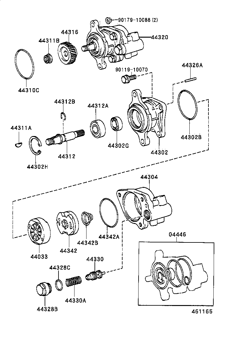 saginaw power steering pump diagram  diagram  auto wiring